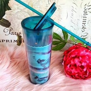 Starbucks Tumbler Venti Blue Swimmi